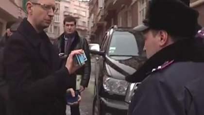 Оппозиция требует выяснить, кто и почему следил за Яценюком
