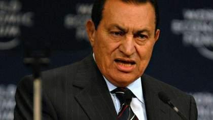 Суд залишив екс-президента Єгипту Хосні Мубарака під вартою