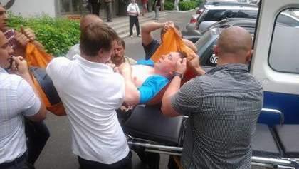 Розинская говорит, что у Мельниченко инсульт, адвокат - сломана рука (Фото)