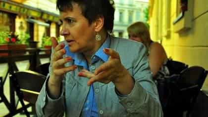 Половина київського політикуму в часи молодості була об'єктом глуму, - Забужко