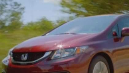 Honda оновила седан Civic (Відео)
