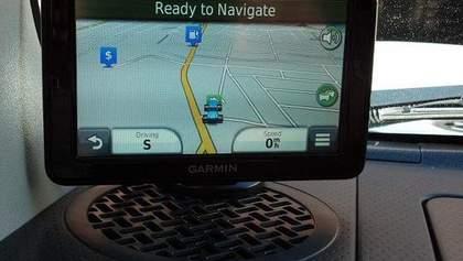 """Телеканал """"24"""" віддав останній навігатор Garmin Nuvi з картами """"Аероскан"""" у Білу Церкву"""