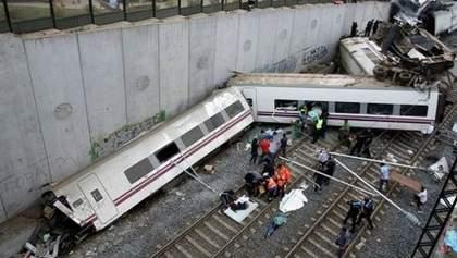 Аварія потяга в Іспанії забрала життя 77 людей