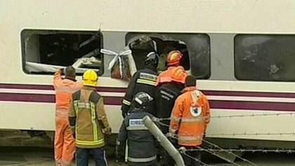 Украинцы не пострадали в результате аварии поезда в Испании, - МИД