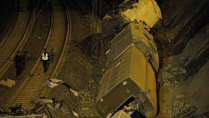 Самая большая железнодорожная катастрофа в Испании за последние 40 лет
