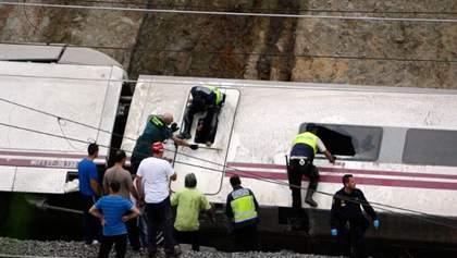 В Испании объявили семидневный траур по жертвам аварии поезда