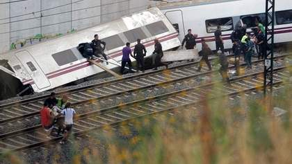 Авария на железной дороге в Испании унесла уже 80 жизней