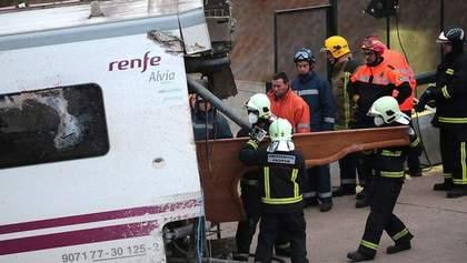 Машиніста потяга, що розбився в Іспанії, помістили під варту
