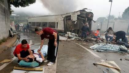 Жертвами аварии в испанской Галисии стали же 78 человек, - судмедэксперты