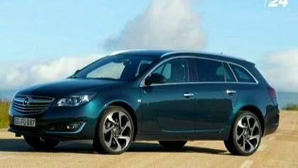 Рестайлинг Opel Insignia и новинка - вседорожный Country Tourer