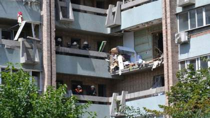 Владелец квартиры, где произошел взрыв в Луганске, дает показания