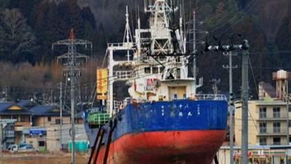 В Японии утилизируют шхуну - символ цунами