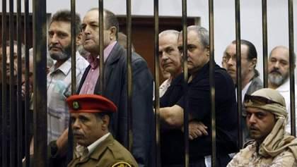 Лівія відмінила десятирічне ув'язнення 19 українцям