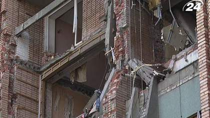 Дом, который взорвался в Луганске, восстановят к отопительному сезону