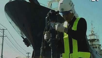 В Японии начали демонтаж судна-символа цунами