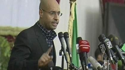Суд над сином Каддафі відклали до грудня