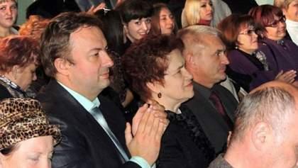 Людмила Янукович посетила спектакль в Макеевке (Фото)