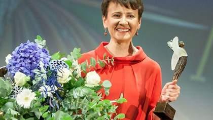 Забужко получила известную литературную премию Angelus (Фото)