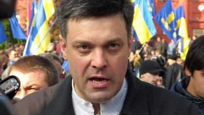 Тягнибок хоче підняти справу проти влади, коли впаде режим Януковича