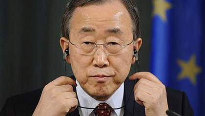 Генсекретар ООН відреагував на ситуацію в Україні