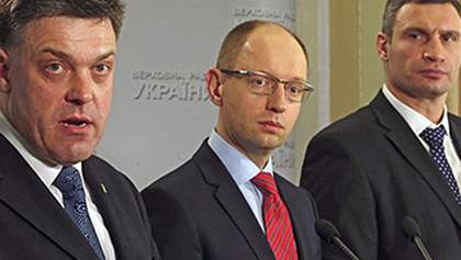 Лідери опозиції вже третю годину домовляються з Януковичем