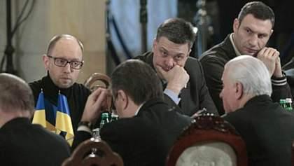 Лидеры оппозиции ведут переговоры с Януковичем на Банковой
