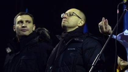 Лідери опозиції повідомлять про переговори з Януковичем після 22:00 зі сцени Майдану