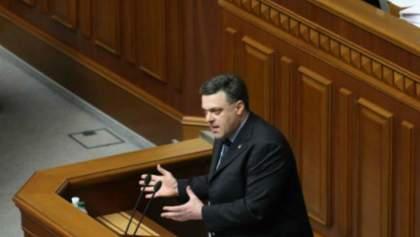 Опозиція пропонує ухвалити закон про амністію без умов влади, — Тягнибок