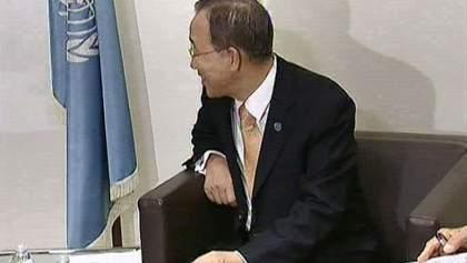 Генсек ООН закликав українську владу та опозицію до поновлення діалогу