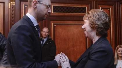 Оппозиционеры обсудили с Кэтрин Эштон формирование коалиции и нового правительства