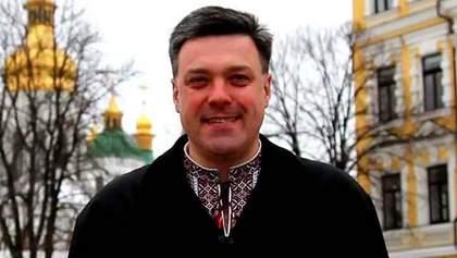 В Украине каждый может говорить на том языке, на каком он хочет, - Тягнибок (Видео)