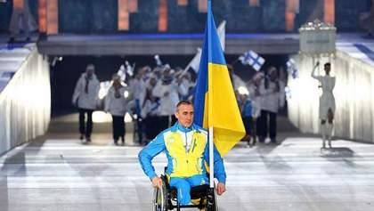 Украина бойкотирует Паралимпиаду: в открытии принял участие только один спортсмен (Фото)