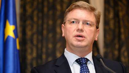 """Європа бачить в Україні """"надійного партнера"""", — Фюле"""