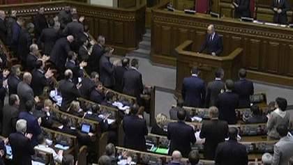 ВР заслушает доклад Яценюка и Охендовского