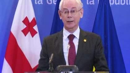 Європейський союз - на боці України, і сьогодні - більше, ніж будь-коли, – Ван Ромпей