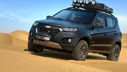 Новая Chevrolet Niva - с миру по нитке