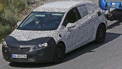 Opel вывел на тесты новую Astra