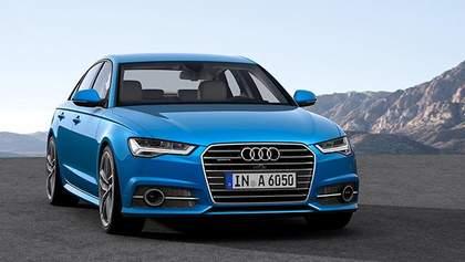 Компанія Audi оновила сімейство А6
