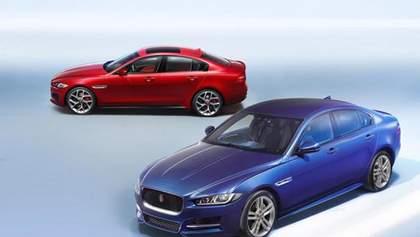 Jaguar привіз до Парижа свій найменший седан – XE