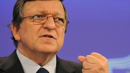 Санкції повинні допомогти зрозуміти Росії, що потрібно дотримуватися певних правил, — Баррозу