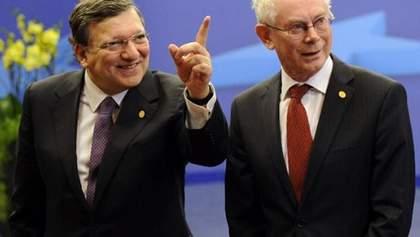 Угода про асоціацію — важливий крок на шляху інтеграції України з ЄС, — Ван Ромпей і Баррозу