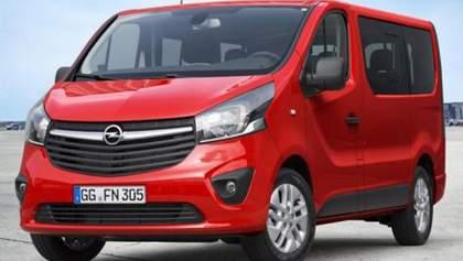 Opel представил новый пассажирский фургон -  Vivaro Combi
