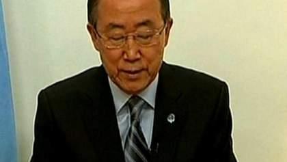 Генсек ООН закликав світ подвоїти зусилля для врегулювання конфлікту на Донбасі