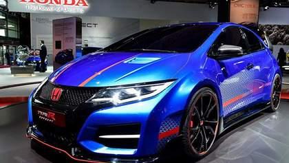 Honda привезла до Парижа передсерійний прототип нового Civic Type R
