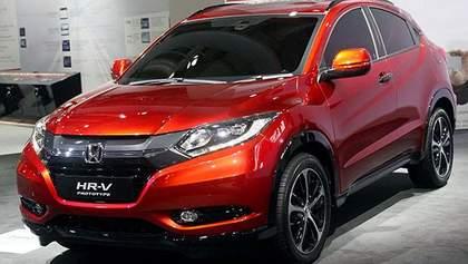 Honda привезла до Парижа новий HR-V
