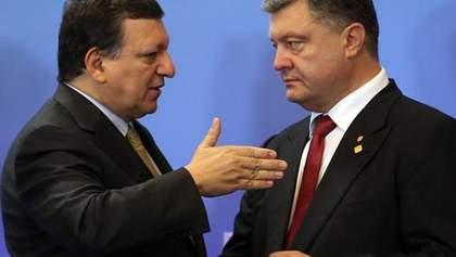 Баррозу написав Києву листа з проханням, щоб Україна скористалася допомогою ЄС для переселенців