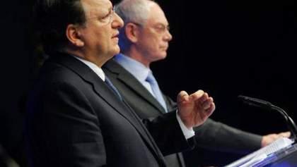 Баррозу і Ромпей виступили зі спільною заявою щодо виборів в Україні