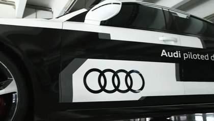 Audi сконструювала найшвидше у світі самокероване авто на базі моделі RS7