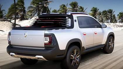 Компанія Renault представила пікап Duster Oroch для активної молоді