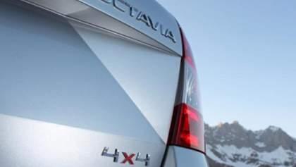 Skoda анонсировала лифтбек Octavia 4x4